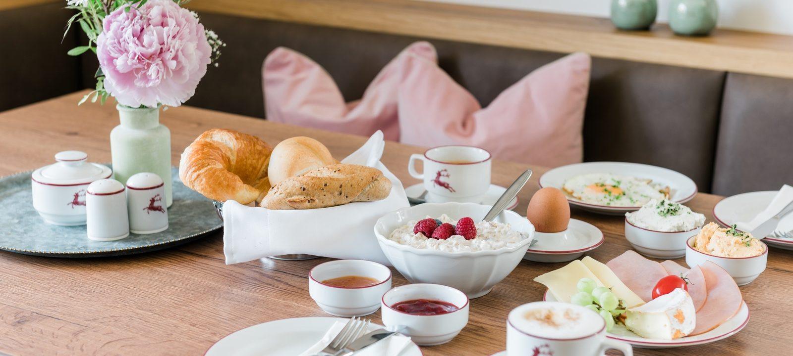 Frühstück im Landhaus Steiner Altenmarkt-Zauchensee