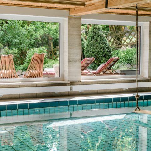 Kleines Hotel mit Schwimmbad im Salzburger Land