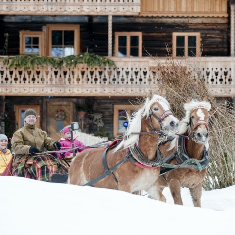 Winterurlaub in den Bergen Hotel Steiner Altenmarkt-Zauchensee